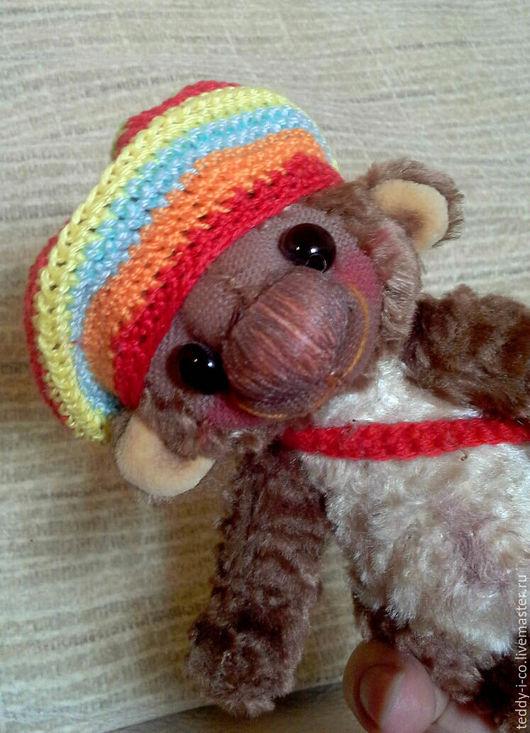 Мишки Тедди ручной работы. Ярмарка Мастеров - ручная работа. Купить Мишка-обезьянка Чики. Handmade. Коричневый, меховая игрушка