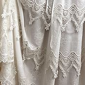 Одежда handmade. Livemaster - original item Dress cotton embroidery Bohemian opaline