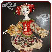 """Подарки к праздникам ручной работы. Ярмарка Мастеров - ручная работа кукла """"Козерожка"""". Handmade."""
