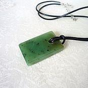 Украшения handmade. Livemaster - original item Pendant of jade. Handmade.