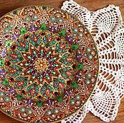 Посуда ручной работы. Ярмарка Мастеров - ручная работа Тарелка декоративная. Handmade.