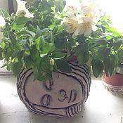 Цветы и флористика ручной работы. Ярмарка Мастеров - ручная работа Кашпо/горшок для цветов. Handmade.