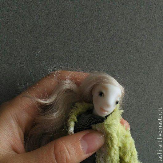 Кукольный дом ручной работы. Ярмарка Мастеров - ручная работа. Купить Лена (миниатюрная игровая кукла). Handmade. Миниатюра