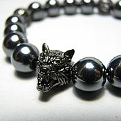 Украшения handmade. Livemaster - original item Bracelet made of hematite