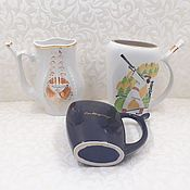 Винтаж handmade. Livemaster - original item Drinking mugs of the USSR Vintage. Handmade.