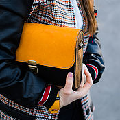 Сумки и аксессуары handmade. Livemaster - original item Leather women bag Big Twice. Handmade.