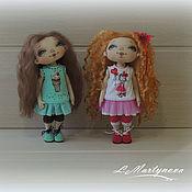 Куклы и игрушки handmade. Livemaster - original item Doll Textile Interior Copyright.. Handmade.