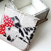 Для дома и интерьера handmade. Livemaster - original item Box-box