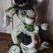 """Куклы и игрушки ручной работы. Ярмарка Мастеров - ручная работа Заяц """" БЕНЖАМИН"""". Handmade."""