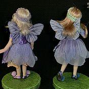 Куклы и игрушки ручной работы. Ярмарка Мастеров - ручная работа Феюшки анютиных глазок ). Handmade.