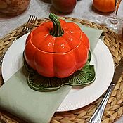Посуда handmade. Livemaster - original item Pumpkin-the autumn queen! Handmade dishes, ceramics.. Handmade.