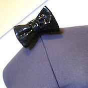 Аксессуары handmade. Livemaster - original item Bow tie CONCERT self-tie, black sequins. Handmade.