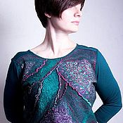 Одежда handmade. Livemaster - original item Sweater felted