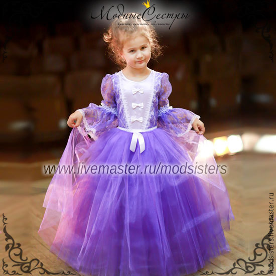 Baby dress 'Ball gown' lilac Art.-102, Childrens Dress, Nizhny Novgorod,  Фото №1