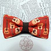 Аксессуары handmade. Livemaster - original item Bow tie Guitar/ butterfly with guitars/music/ music instrum. Handmade.