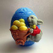 Косметика ручной работы. Ярмарка Мастеров - ручная работа мыло яйцо пасхальное большое. Handmade.