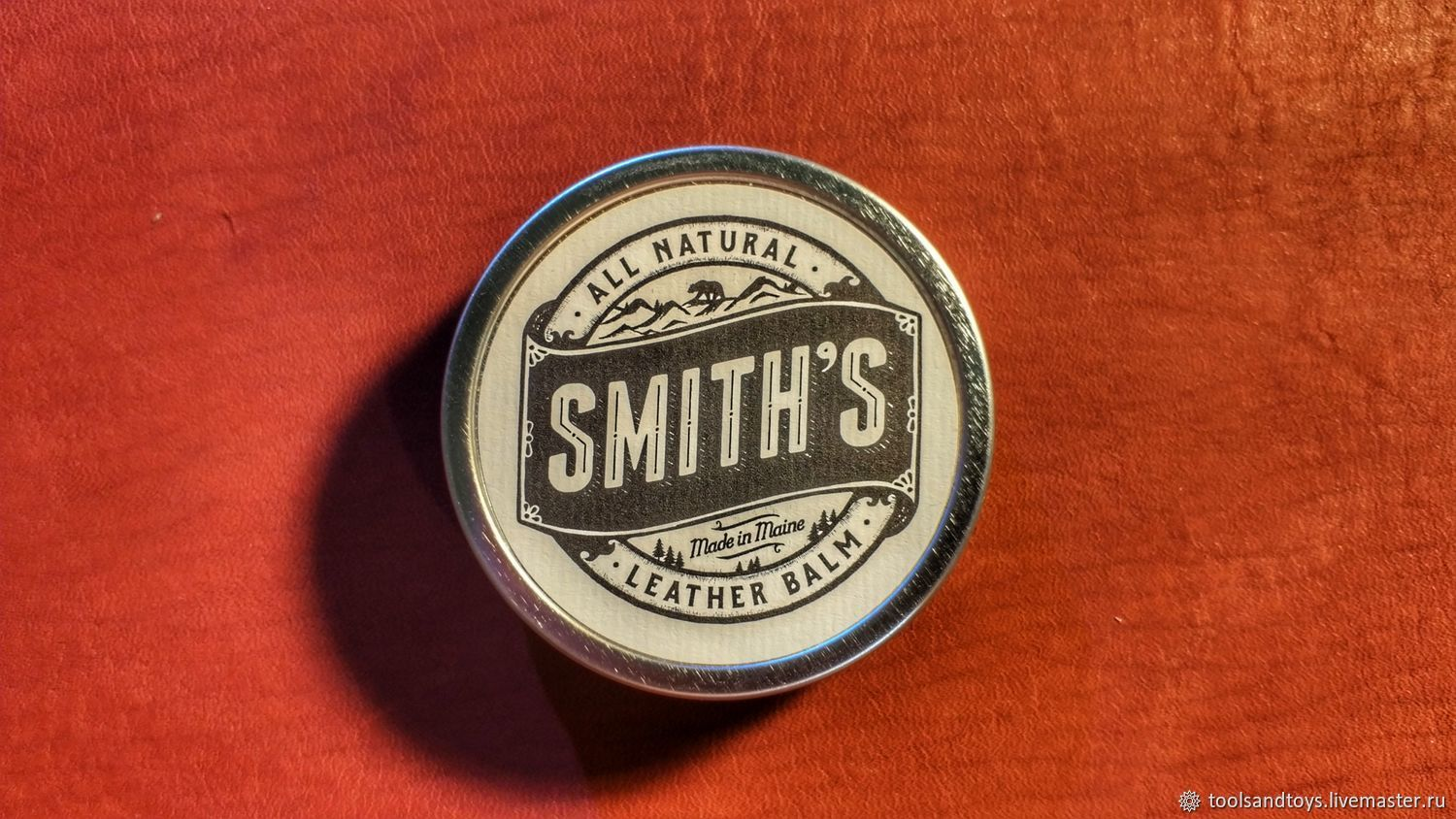 Smiths Leather Balm  Бальзам Смита, Материалы для работы с кожей, Санкт-Петербург,  Фото №1
