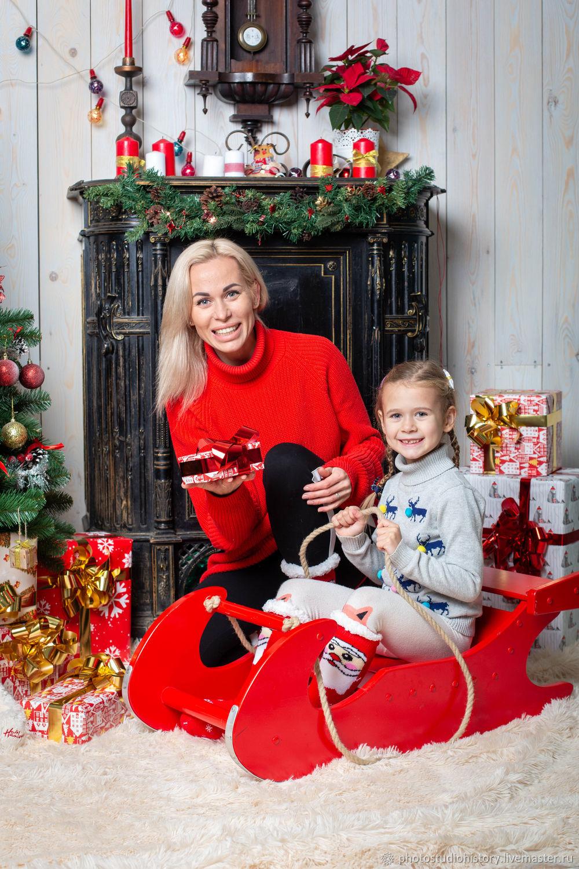 Новогодние семейные фотосессии, Фото, Москва,  Фото №1