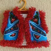 Одежда ручной работы. Ярмарка Мастеров - ручная работа Детская душегрея -Бабочка. Handmade.