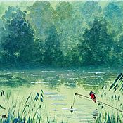 Картины и панно handmade. Livemaster - original item Author`s oil painting