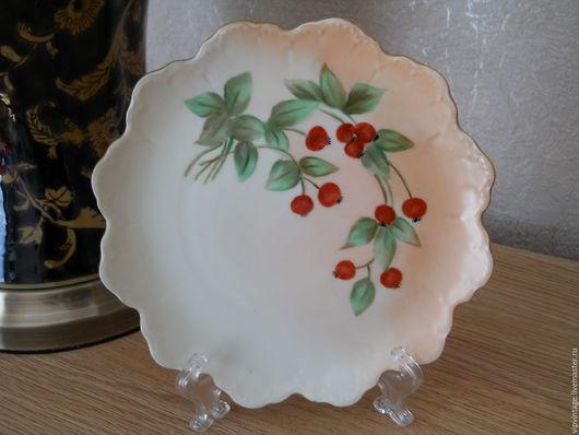 Винтажная посуда. Ярмарка Мастеров - ручная работа. Купить Rosenthal (Розенталь) Malmaison Bavaria Винтажная десертная тарелочка. Handmade. Комбинированный