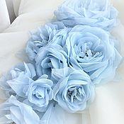 Украшения handmade. Livemaster - original item BIG-Brooch with roses