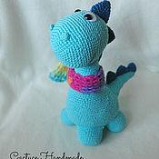 Куклы и игрушки handmade. Livemaster - original item the toy dinosaur dylan. Handmade.