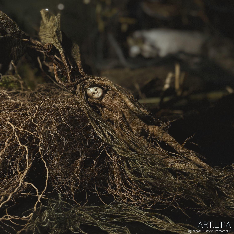 Корень Мандрагоры. Авторская кукла, Чердачная кукла, Москва,  Фото №1