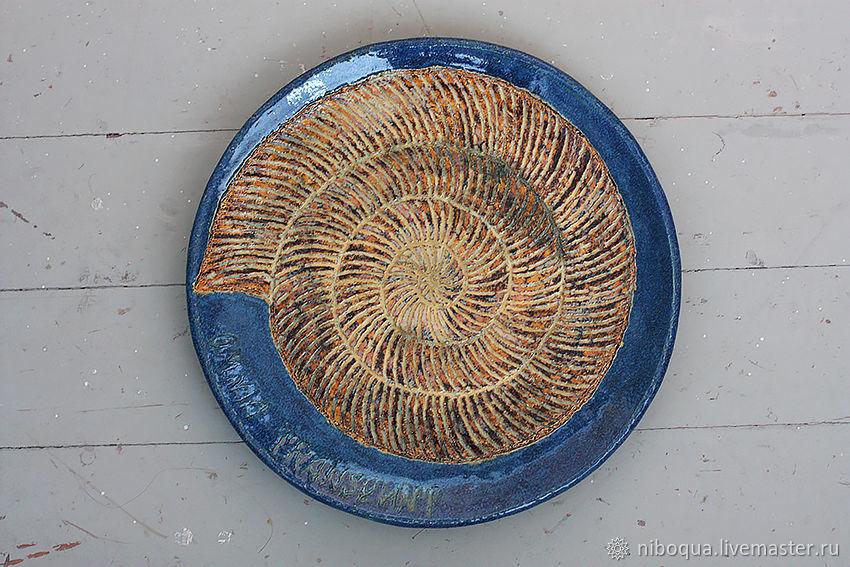 Интерьерное блюдо Omnia transeunt - 2, Элементы интерьера, Москва,  Фото №1