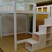 Для дома и интерьера ручной работы. Ярмарка Мастеров - ручная работа Практичная кроватка. Handmade.