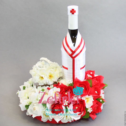 Кулинарные сувениры ручной работы. Ярмарка Мастеров - ручная работа. Купить Подарок врачу букет из конфет для врача подарки врачам медсестре медик. Handmade.