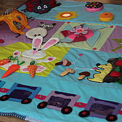 """Куклы и игрушки ручной работы. Ярмарка Мастеров - ручная работа Развивающий коврик """"Большой мир маленького человечка"""" - 2. Handmade."""