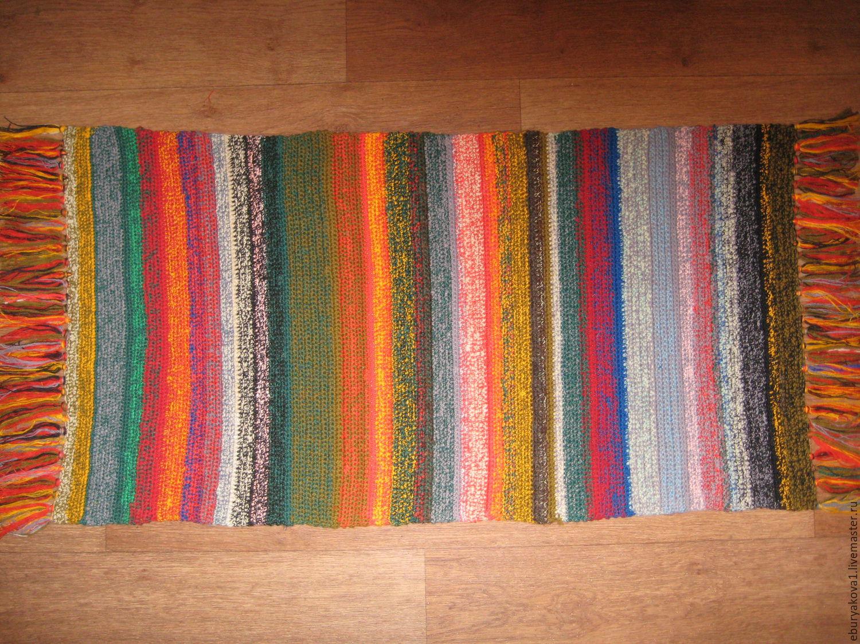 Соткать коврик своими руками фото