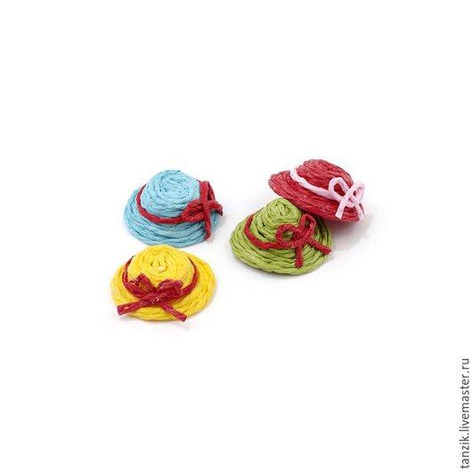 Куклы и игрушки ручной работы. Ярмарка Мастеров - ручная работа. Купить Шляпки для кукол и игрушек.. Handmade. Разноцветный, шляпка, шапочка