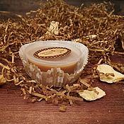 """Массажные плитки ручной работы. Ярмарка Мастеров - ручная работа Масляная плиточка для тела """"Какао с корицей"""". Handmade."""