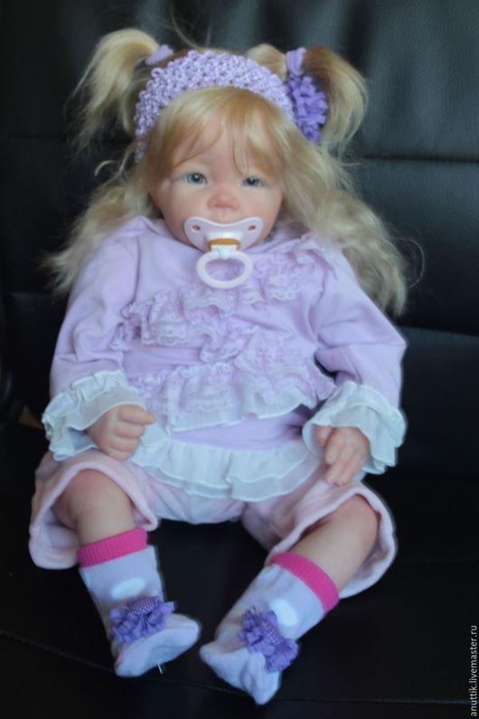 Куклы-младенцы и reborn ручной работы. Ярмарка Мастеров - ручная работа. Купить Малышка   Лука. Handmade. Бежевый, кукла в подарок
