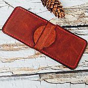 Сумки и аксессуары handmade. Livemaster - original item Brown purse. Handmade.