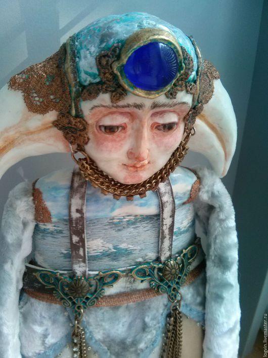 Коллекционные куклы ручной работы. Ярмарка Мастеров - ручная работа. Купить Белый Ворон. Handmade. Белый, кукла птица