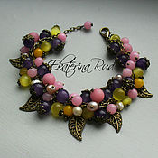 Украшения handmade. Livemaster - original item Bracelet from stones