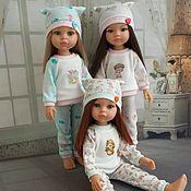 Одежда для кукол ручной работы. Ярмарка Мастеров - ручная работа Пижамки для Паола Рейна. Handmade.