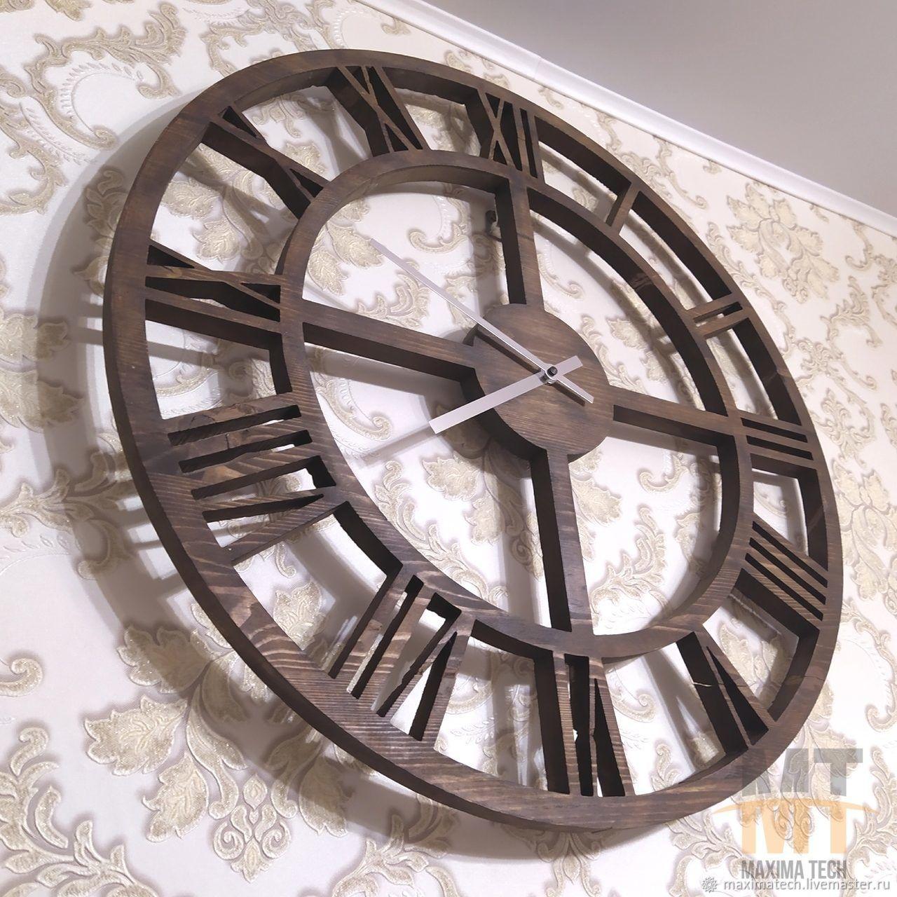 Loft clock from the array, Watch, Shatura,  Фото №1