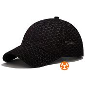 Аксессуары handmade. Livemaster - original item Summer baseball cap full print Sota Black. Handmade.