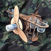 Подарки на 23 февраля ручной работы. Ярмарка Мастеров - ручная работа Бар-самолет. Handmade.