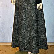 Одежда ручной работы. Ярмарка Мастеров - ручная работа Юбка в пол из жаккардовой ткани. Handmade.