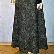 Одежда handmade. Livemaster - original item The floor-length skirt jacquard. Handmade.