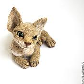 Куклы и игрушки ручной работы. Ярмарка Мастеров - ручная работа Любимая кошечка. Handmade.