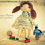 """Куклы и игрушки ручной работы. Ярмарка Мастеров - ручная работа Авторская кукла """"Шарлотта"""" для больших девочек, ну....и маль. Handmade."""