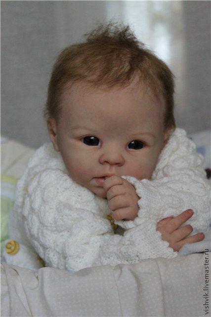 Куклы-младенцы и reborn ручной работы. Ярмарка Мастеров - ручная работа. Купить Кристиан. Handmade. Кукла реборн, краски генезис
