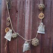 Для дома и интерьера ручной работы. Ярмарка Мастеров - ручная работа Гирлянда-саше в стиле Рустик,Эко. Handmade.