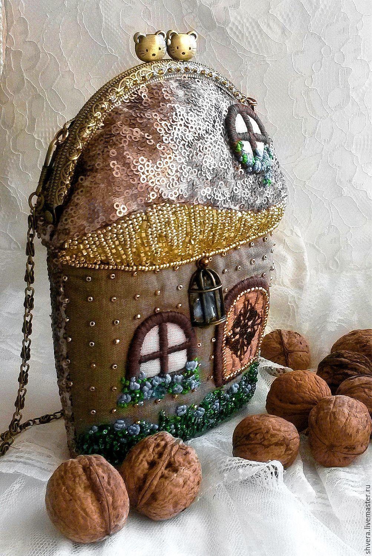 """Мини-сумочка на фермуаре """"Mona"""", Clasp Bag, Belgorod,  Фото №1"""